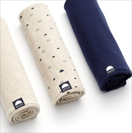 Shleep Merino Cotton Swaddle Set