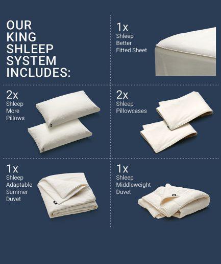 Shleep System King